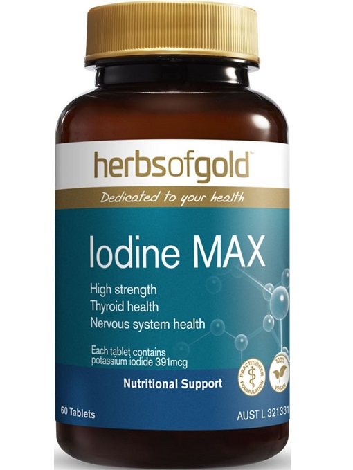 Herbs of Gold Iodine Max