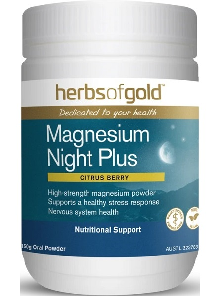Herbs of Gold Magnesium Night Plus