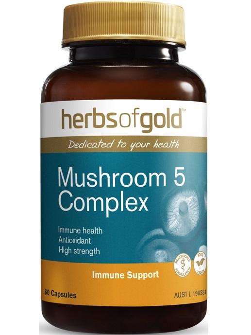 Herbs of Gold Mushroom 5 Complex