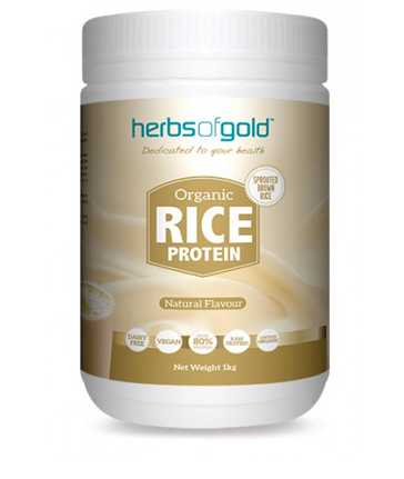 Herbs of Gold Organic Rice Powder Protein