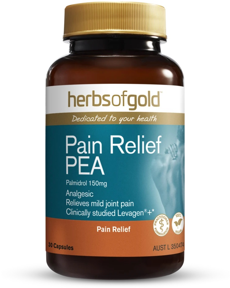 Herbs of Gold Pain Relief PEA Palmidrol