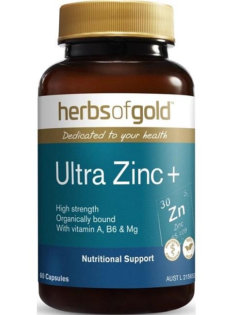 Herbs of Gold Ultra Zinc+
