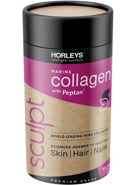 Horleys Collagen with Peptan (Marine-Sourced)