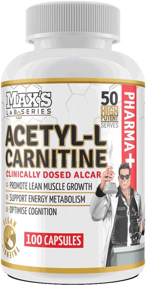 Maxs Acetyl-L-Carnitine Capsules