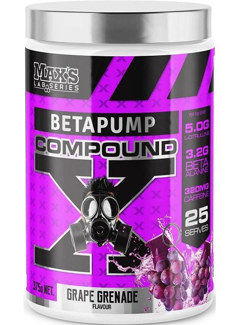 Maxs Lab Series BetaPump Compound X