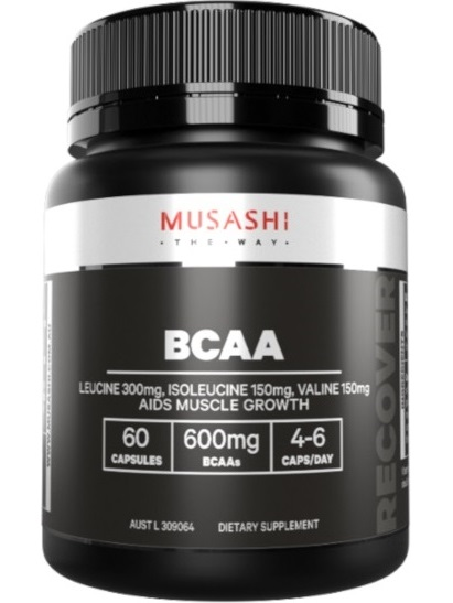 Musashi Muscle Recovery Capsules
