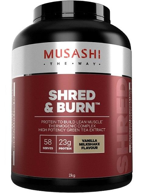 Musashi Shred and Burn