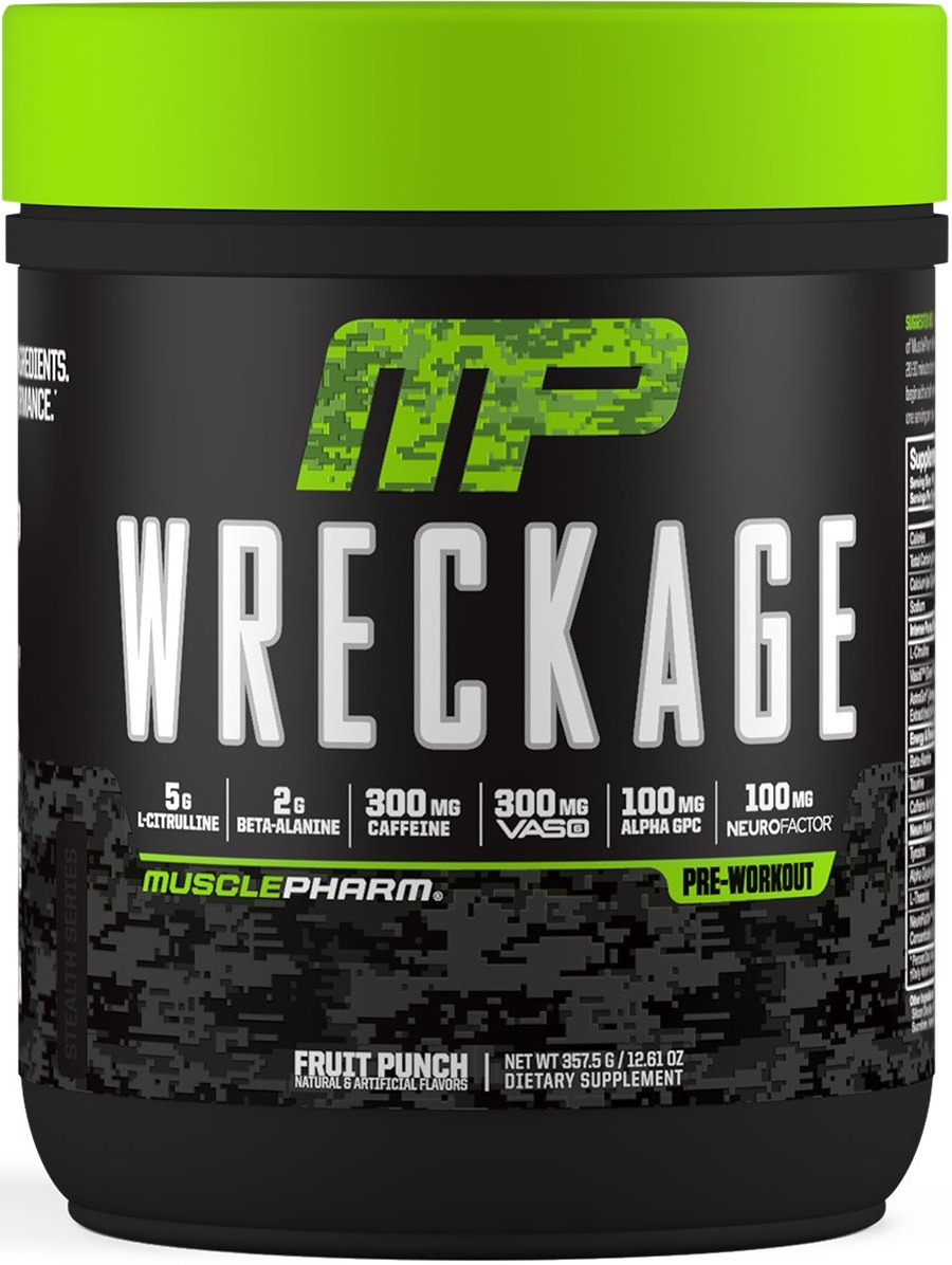 Muscle Pharm Wreckage Pre-Workout