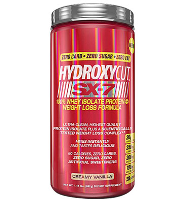 MuscleTech Hydroxycut SX-7 100% Isolate Protein