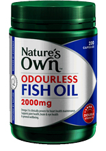 Nature 39 s own fish oil odourless 2000mg discounted for How much fish oil per day bodybuilding