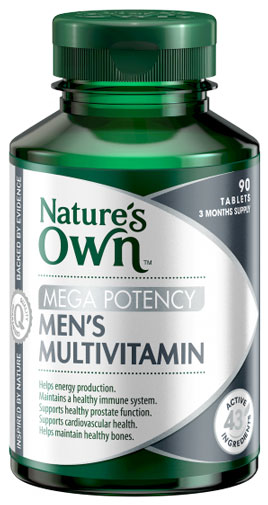 Natures Own Mens Multivitamin