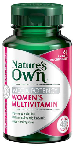 Natures Own Womens Multivitamin