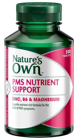 Natures Own PMS Nutrient Support