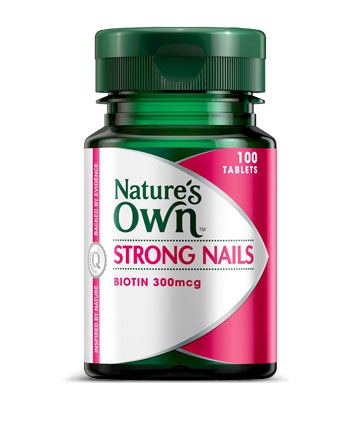 Natures Own Strong Nails