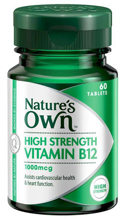 Natures Own Vitamin B12 1000mcg
