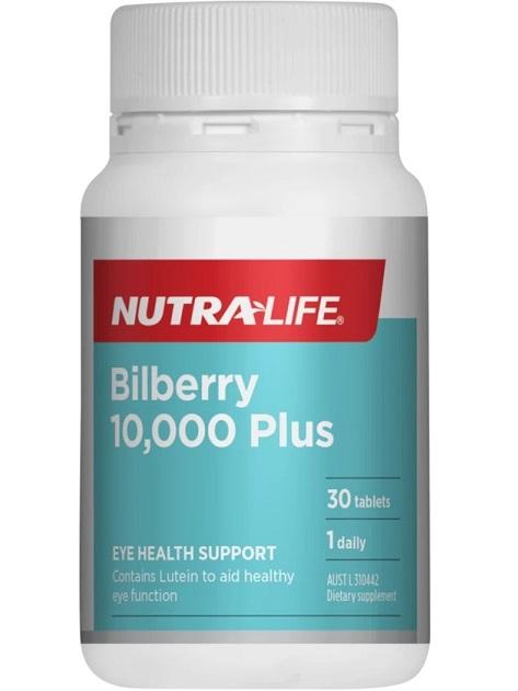 Nutra-Life Bilberry 10000