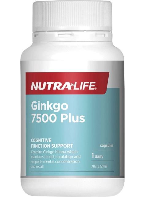 Nutra-Life Ginkgo 7500 Plus