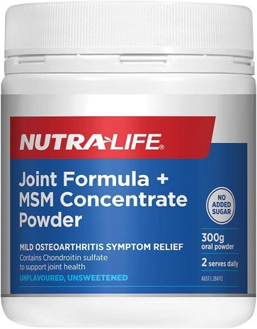 Nutra-Life Glucosamine Chondroitin MSM Joint Food Concentrate