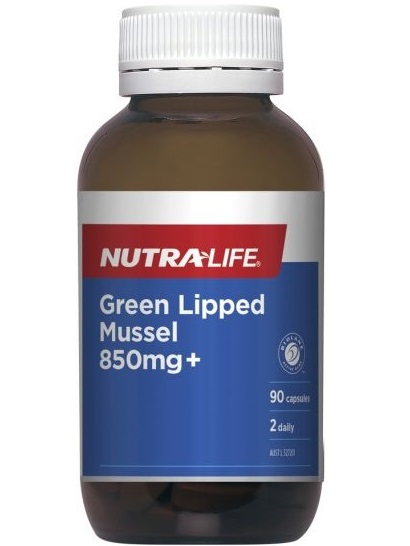 Nutra-Life Green Lipped Mussel 850mg