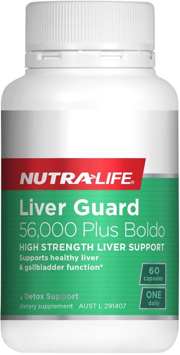 Nutra-Life Liver Guard 56,000 Plus Boldo