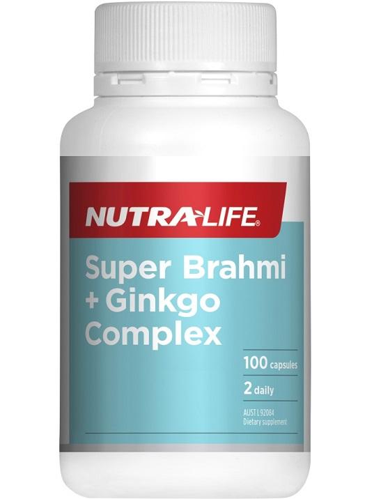 Nutra-Life Super Brahmi & Ginkgo