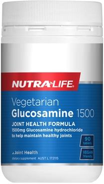 Nutra-Life Vegetarian Glucosamine 1500