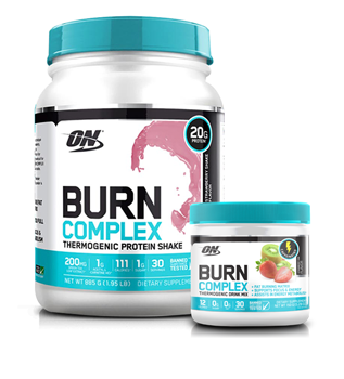 Optimum Nutrition Burn Complex Caffeinated Stack