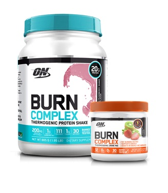 Optimum Nutrition Burn Complex Caffeine Free Stack