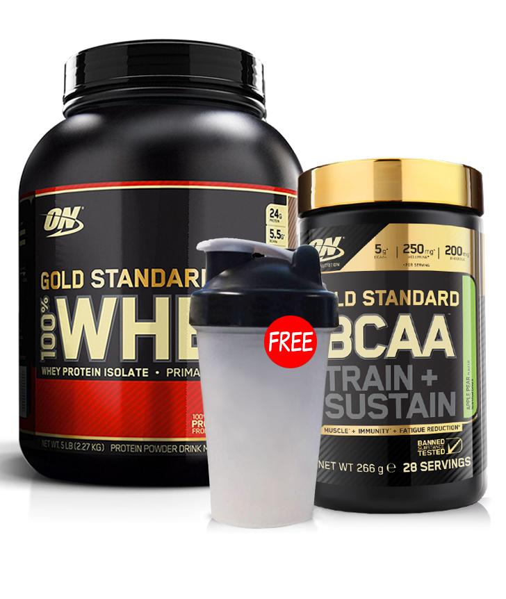 Optimum Nutrition Gold Standard Whey BCAA Stack