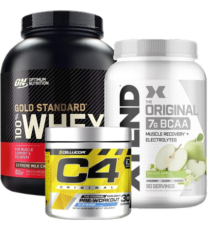 Optimum Whey C4 Xtend Lean Muscle Stack