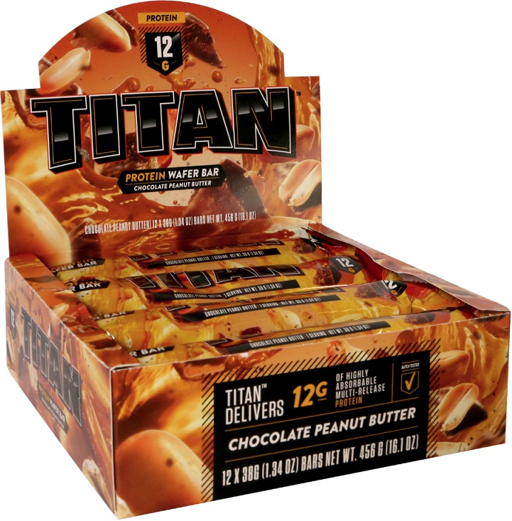 Premier Nutrition Titan Wafer Bar