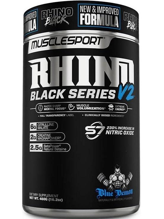 Rhino Pre-Workout Black Series