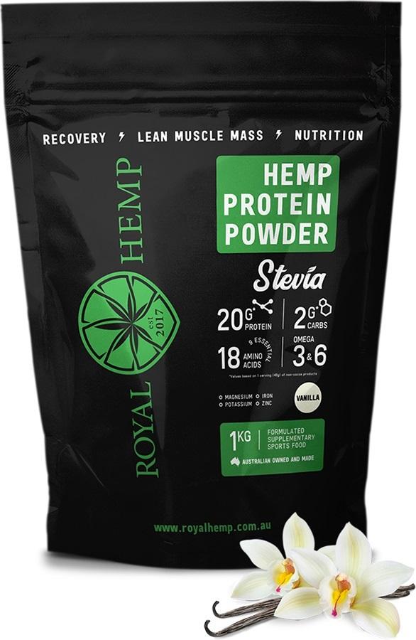 Royal Hemp Protein Powder Stevia