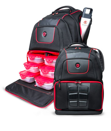 342ba2579a10 Six Pack Fitness Elite Voyager Backpack