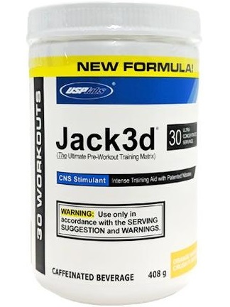 Jack3d Pre-Workout New Formula