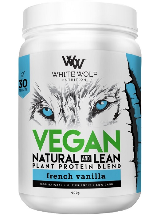 White Wolf Nutrition Vegan Natural and Lean Plant Protein Blend