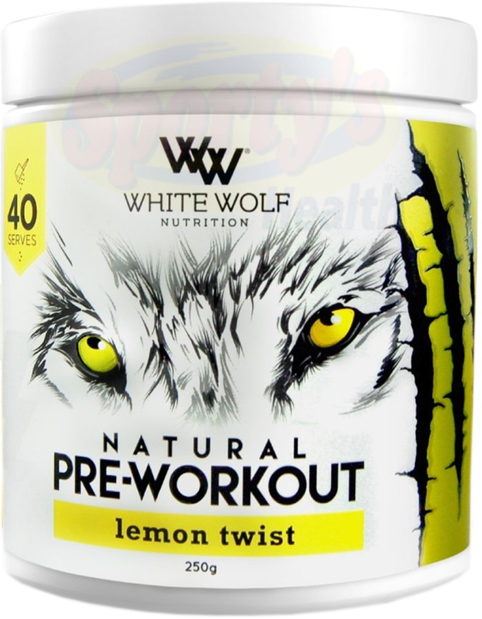 White Wolf Nutrition Natural Pre-Workout
