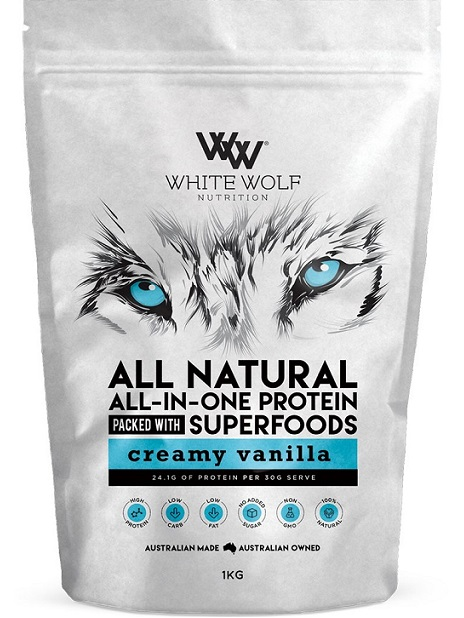 White Wolf Nutrition All Natural All-In-One Protein