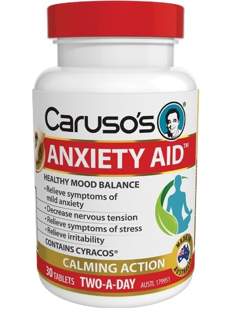 Carusos Natural Health Anxiety Aid
