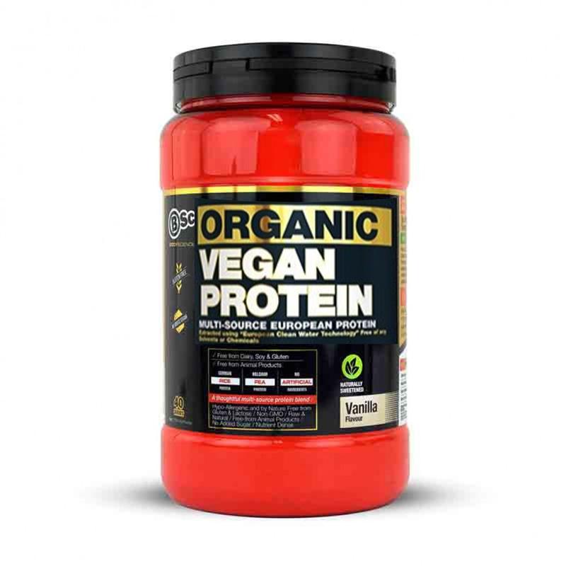 Body Science BSc Organic Vegan Protein