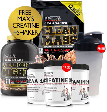 Maxs Bulk Mass Advanced Pack