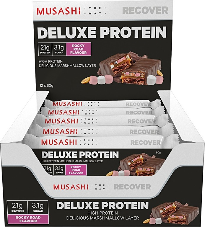 Musashi Deluxe High Protein Bar