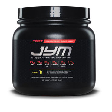 Jym Supplements Science Post Workout
