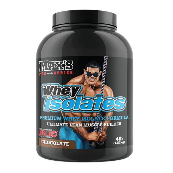 Maxs Whey Isolates WPI