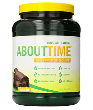 ABOUT TIME Whey Protein Isolate
