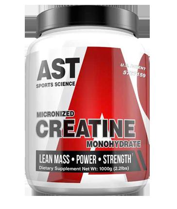 AST Micronised Creatine Monohydrate