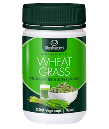 Lifestream Wheat Grass Capsules