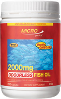 Microgenics Fish Oil Odourless 2000mg