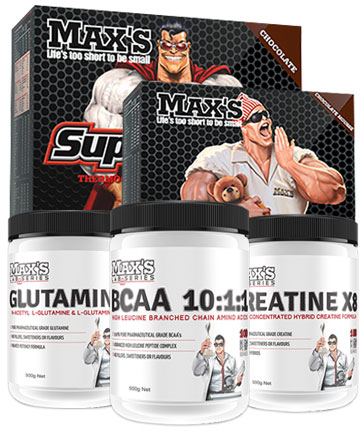 Maxs SuperShred Lean Muscle + Lose Fat Stack
