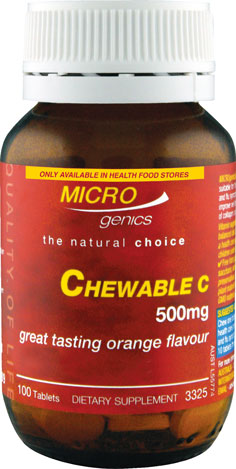 Microgenics Chewable C 500mg